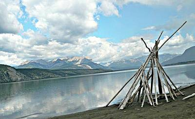 Photograph - Tipi Like by 'REA' Gallery