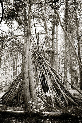 Photograph - Tipi Shelter by Marilyn Hunt