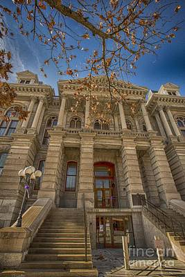 Photograph - Tippacanoe County Courthouse by David Bearden