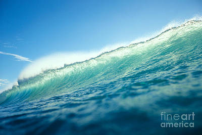 Tipped Wave Art Print