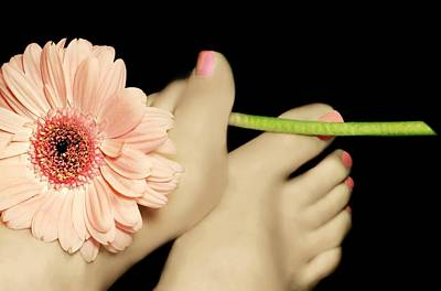 Photograph - Tipsy Toes by Diana Angstadt