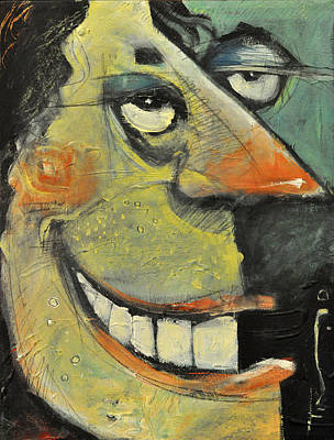 Teeth Smile Painting - Tiptoe Through My Two Lips by Tim Nyberg
