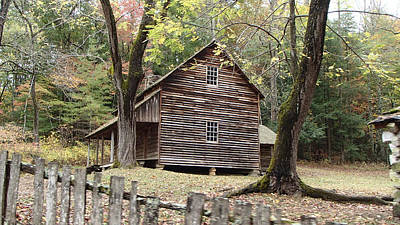 Photograph - Tipton Place In Cades Cove Tennessee by Becky Erickson