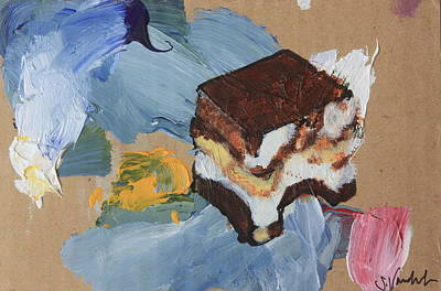 Mixed Media - New Tiramisu  by Sarah Vandenbusch