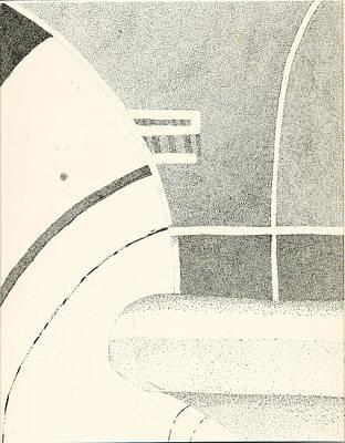 Tire Print by Dawn Marie Black