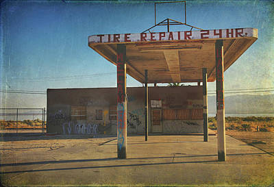 Photograph - Tire Repair by Laurie Search