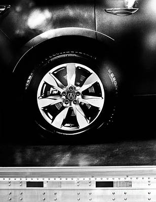 Photograph - Tire Under The Noonlight by Fei A