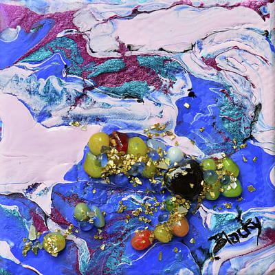 Mixed Media - Tiree by Donna Blackhall
