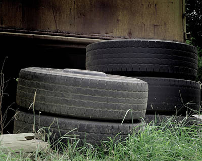 Photograph - Tires For Sale by Philip A Swiderski Jr