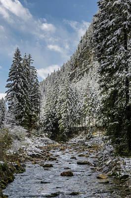 Photograph - Tirol Bavaria Border by Adrian O Brien