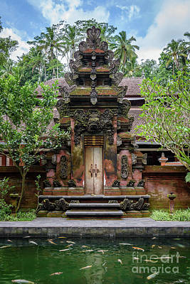 Photograph - Tirta Empul Water Temple In Bali, Indonesia by Global Light Photography - Nicole Leffer