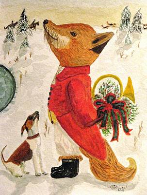 Painting - Tis The Season by Angela Davies