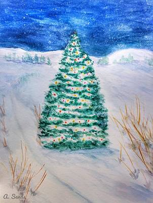 Painting - Tis The Season by Anne Sands