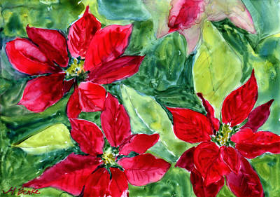 Painting - 'tis The Season by Mary Benke