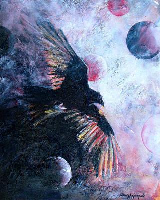'tis The Wind Art Print by Sandy Applegate