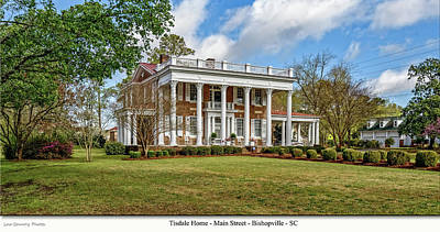 Photograph - Tisdale Manor2 by Mike Covington