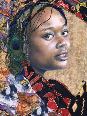 Mixed Media - Tishauna 7.1 by Gary Williams