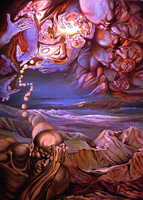 Titan In Desert Or Theft Of Intentions Original by Mikhail Savchenko