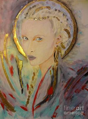 Libellule Mixed Media - Titania by Victoria Rosenfield