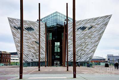 Photograph - Titanic Belfast Museum In Ireland by Vizual Studio