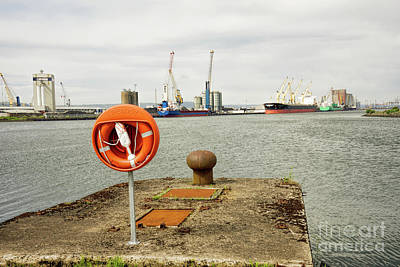 Photograph - Titanic Belfast Shipyard On The Belfast Lough by Vizual Studio