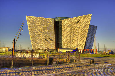 Photograph - Titanic Belfast by Juli Scalzi