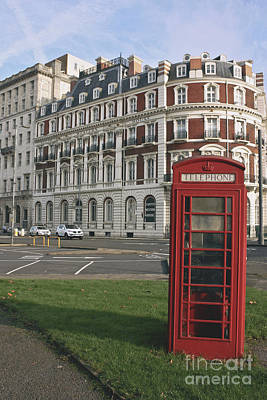 Photograph - Titanic Hotel And Red Phone Box by Terri Waters