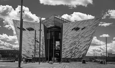 Photograph - Titanic Memorial --belfast by Tim Bryan