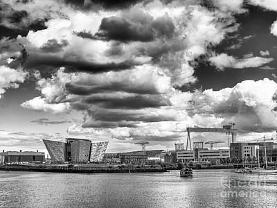 Photograph - Titanic Quarter    by Jim Orr