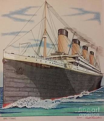Titanic Original by Russell Parmerter