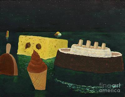 Titanic's Birthday Art Print