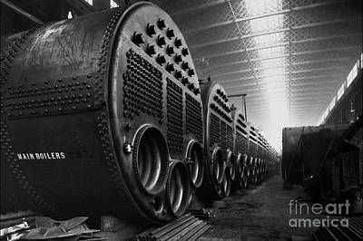 Boiler Photograph - Titanic's Boilers by The Titanic Project