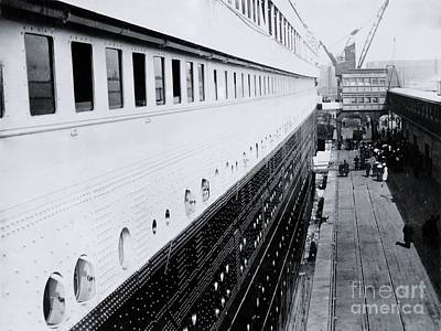 First-class Photograph - Titanic's First-class Gangway by The Titanic Project