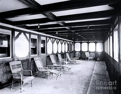 Titanic's Private Promenade Art Print by The Titanic Project