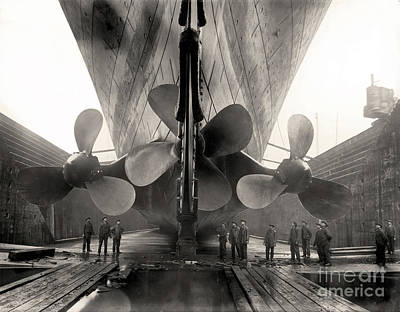 Photograph - Titanic's Propellers  by Doc Braham