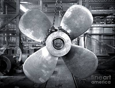 Titanic Photograph - Titanic's Propellers by The Titanic Project