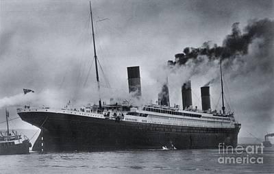 Titanic's Sea Trials Art Print by The Titanic Project