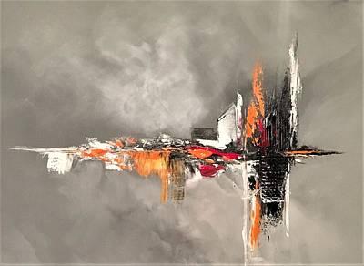 Painting - Titanium by Soraya Silvestri