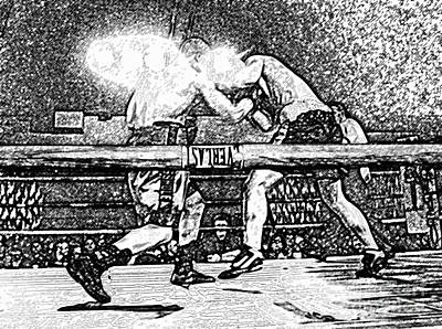 Prize Fighting Photograph - Titans Of The Ring by David Lee Thompson