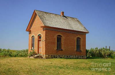 Photograph - Tithing House by Roxie Crouch