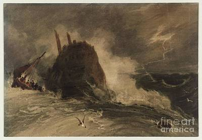 Shipwreck Painting - Title A Shipwreck by MotionAge Designs
