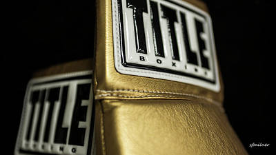 Photograph - Title Boxing Gloves by Steven Milner