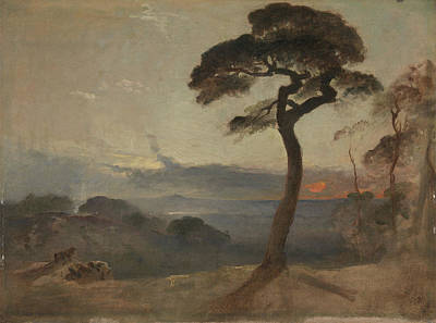 Hampstead Painting - Title Hampstead Heath by Francs Danby