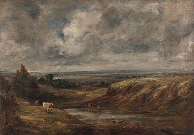 Hampstead Painting - Title Hampstead Heath by John Constable