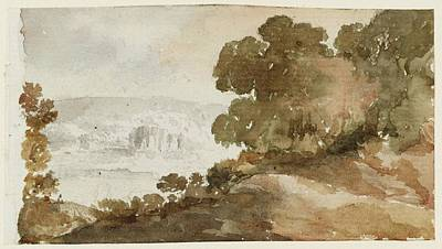1781 Painting - Title Landscape Study by MotionAge Designs