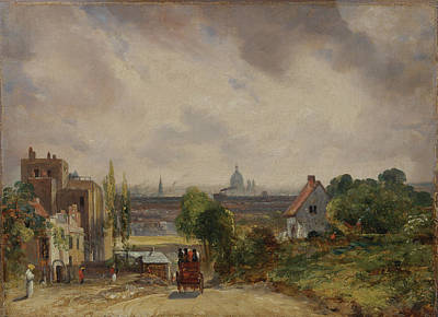 Hampstead Painting - Title Sir Richard Steeles Cottage Hampstead by John Constable