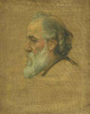 Sir Charles Painting - Title Sketch Of Alphonse Legros by Sir Charles Holroyd