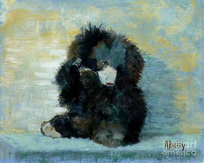 Painting - Titli Bear by Ann Radley
