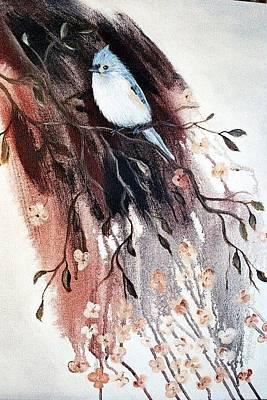 Titmouse Original by Lynette Brown