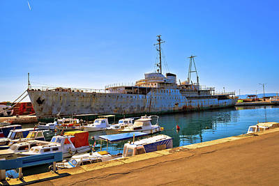 Photograph - Titov Galeb Ship Wreck Docked by Brch Photography